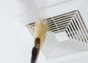 dusting air duct